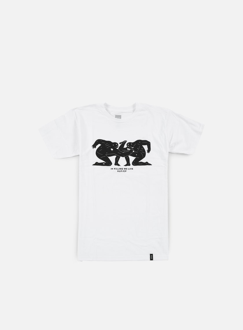 Huf - Cleon Peterson T-shirt, White