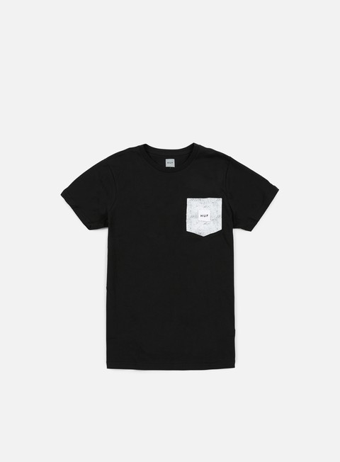 Short Sleeve T-shirts Huf Concrete Box Logo Pocket T-shirt
