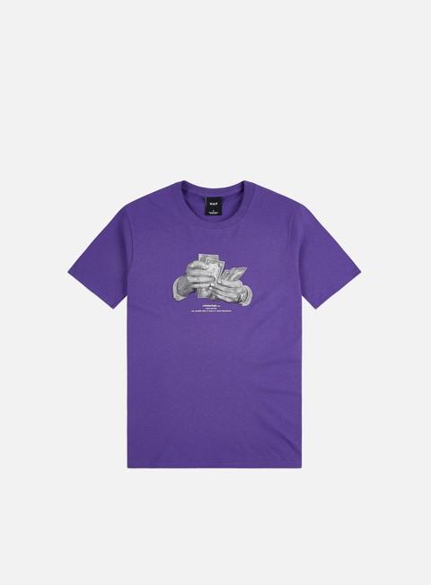 Short Sleeve T-shirts Huf Criminology T-shirt