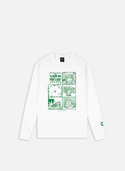 Long Sleeve T-shirts Huf Day In The Life LS T-Shirt