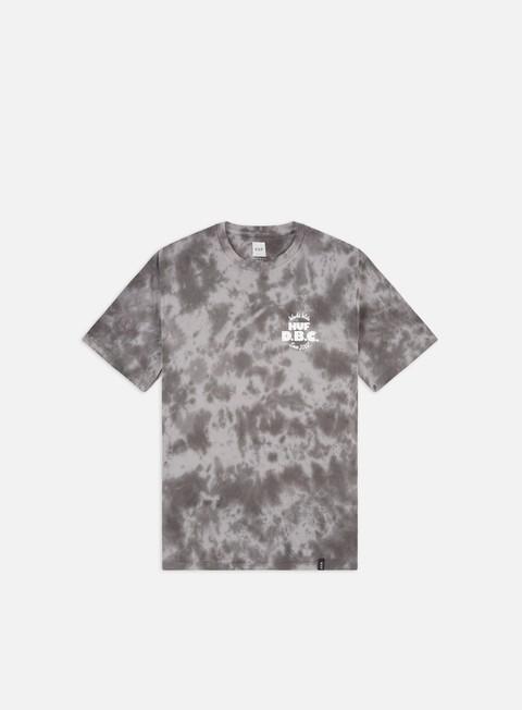 Outlet e Saldi T-shirt a Manica Corta Huf DBC Cotton Candy Wash T-shirt