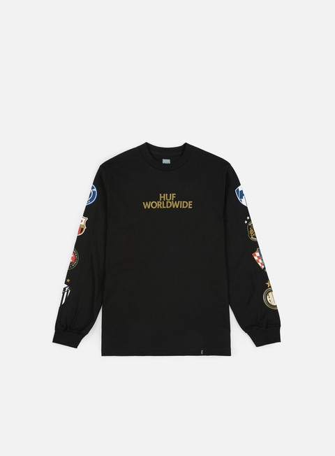 Sale Outlet Long Sleeve T-shirts Huf DBC FC Club Crest LS T-shirt