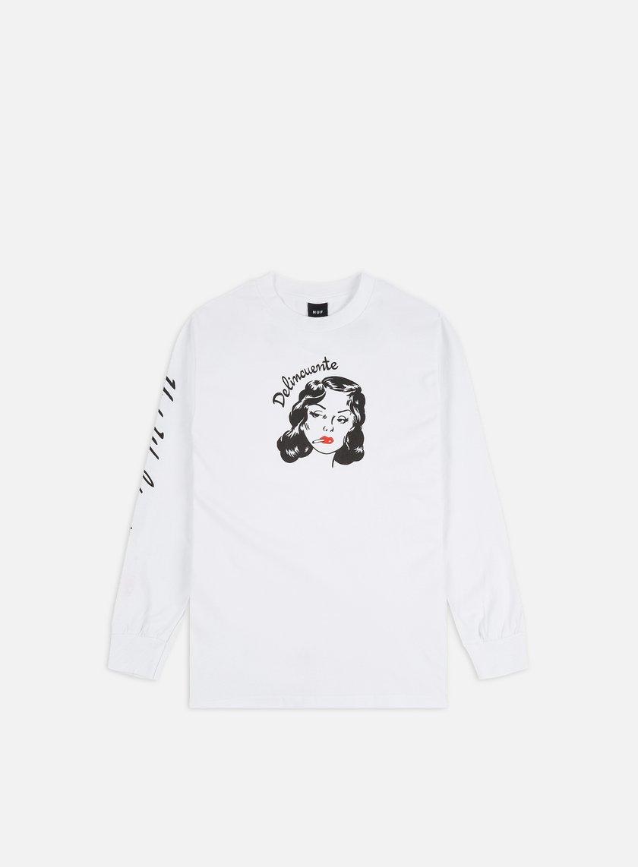 Huf Delincuente LS T-shirt