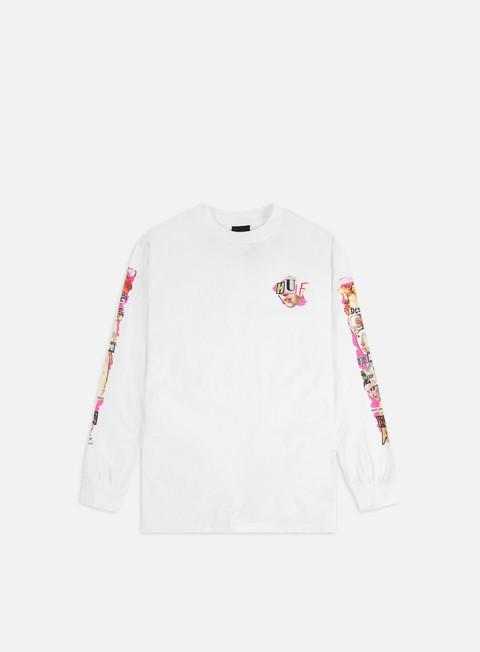 Outlet e Saldi T-shirt a Manica Lunga Huf Desire LS T-shirt