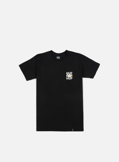 t shirt huf disaster dove t shirt black