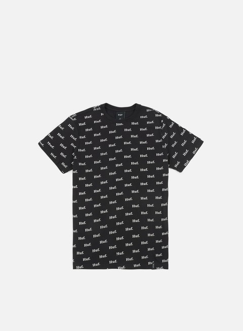 t shirt huf domestic all over print t shirt black