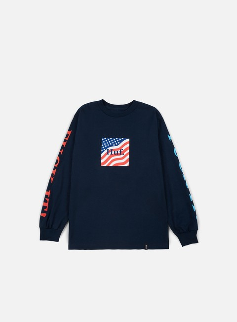 Long Sleeve T-shirts Huf Domestic Fuck It LS T-shirt