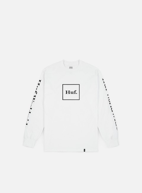 t shirt huf domestic ls t shirt white