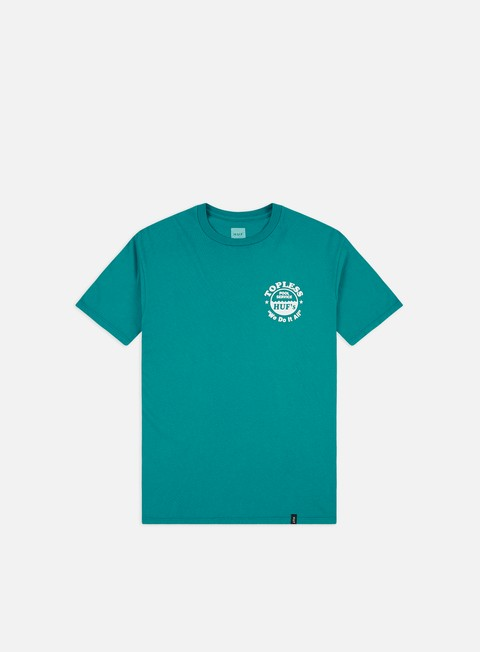 Short Sleeve T-shirts Huf Drained T-shirt