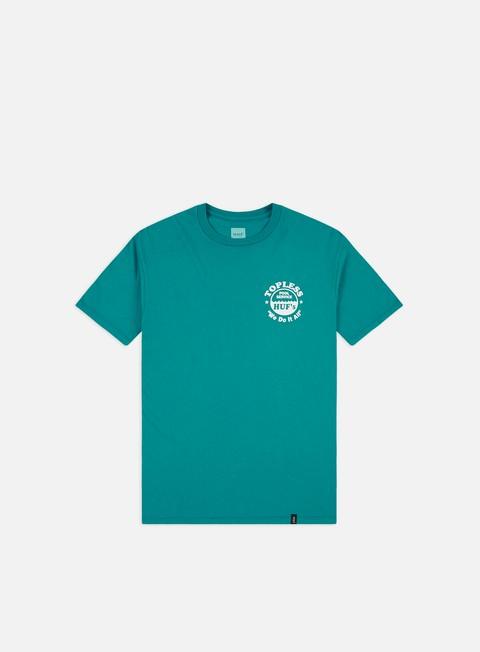Outlet e Saldi T-shirt a Manica Corta Huf Drained T-shirt