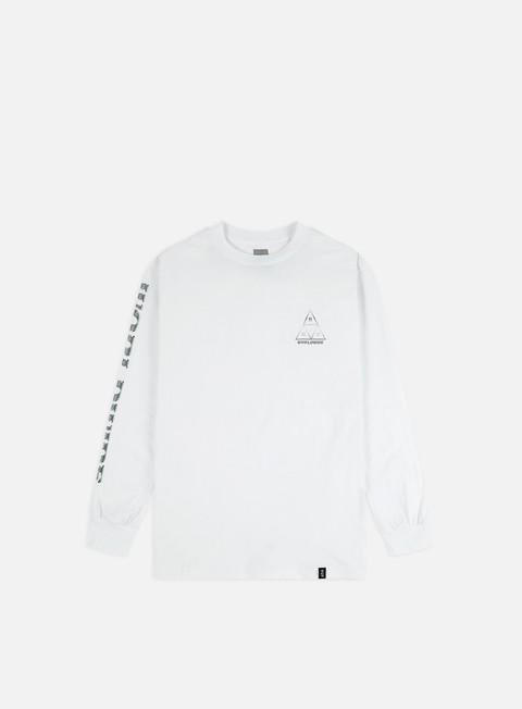 Outlet e Saldi T-shirt a Manica Lunga Huf Ember Rose TT LS T-shirt