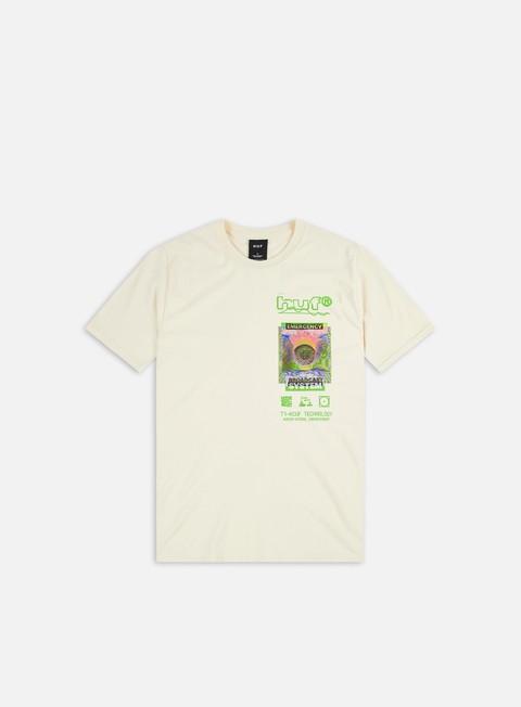 Short sleeve T-shirts Huf Emergency System T-shirt
