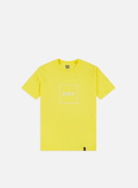 Outlet e Saldi T-shirt a Manica Corta Huf Essential Box Logo T-shirt