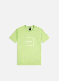 Huf - Essentials Box Logo T-shirt, Huf Green