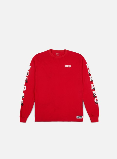 Long Sleeve T-shirts Huf Felix HUF DBC LS T-shirt