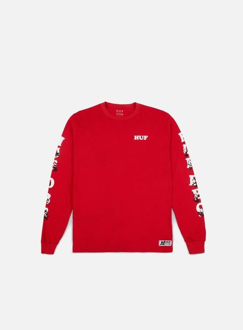Outlet e Saldi T-shirt a Manica Lunga Huf Felix HUF DBC LS T-shirt