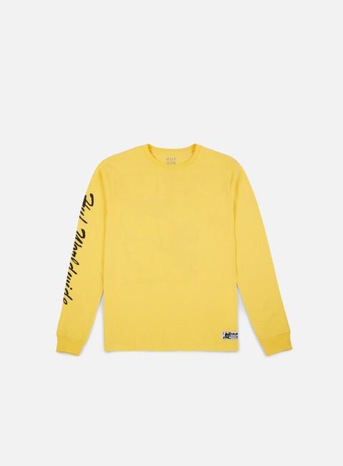Outlet e Saldi T-shirt a Manica Lunga Huf Felix Santee LS T-shirt