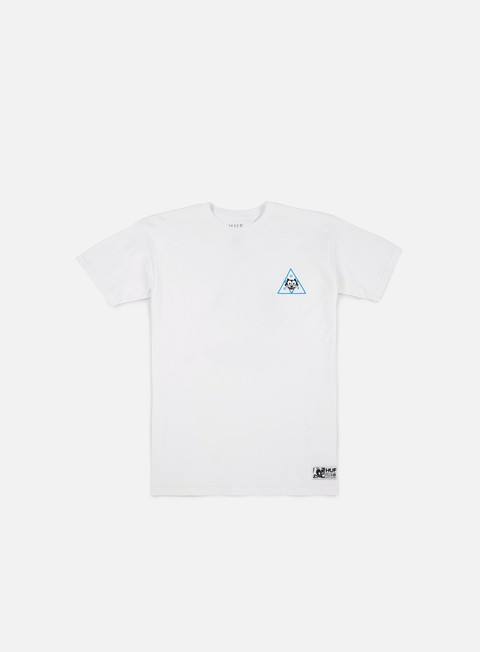 t shirt huf felix triple triangle t shirt white