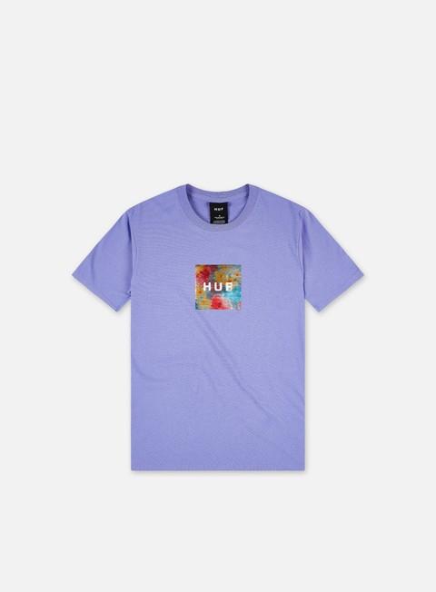 Huf Foil Flower Box Logo T-shirt