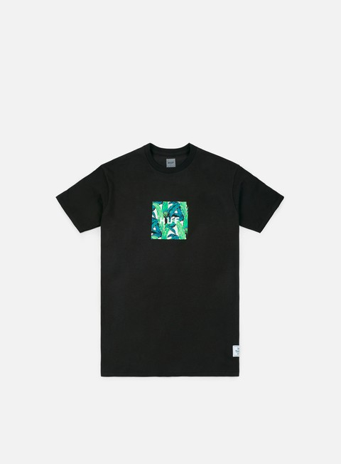 t shirt huf foliage box t shirt black
