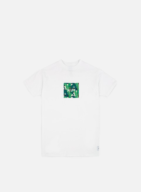 t shirt huf foliage box t shirt white