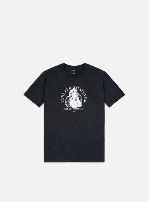 Outlet e Saldi T-shirt a Manica Corta Huf Forever Whatever Omen T-shirt
