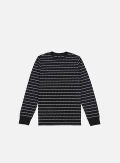 Huf - Fuck It Jacquard LS T-shirt, Black 1
