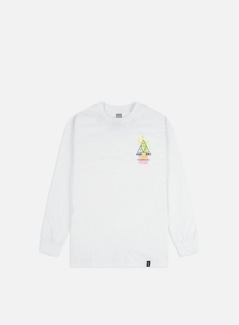 Outlet e Saldi T-shirt a Manica Lunga Huf Full Frequency LS T-shirt