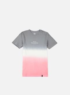 Huf - Garment Dip Dye T-shirt, Grey/White/Pink 1