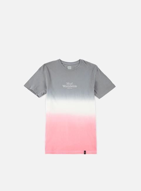 T-shirt a Manica Corta Huf Garment Dip Dye T-shirt