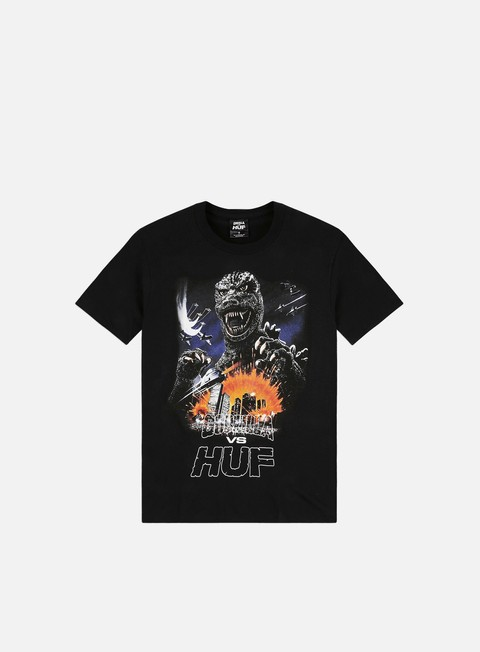 Short Sleeve T-shirts Huf Godzilla Tour T-shirt