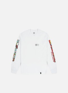 Huf Greetings Pocket LS T-shirt