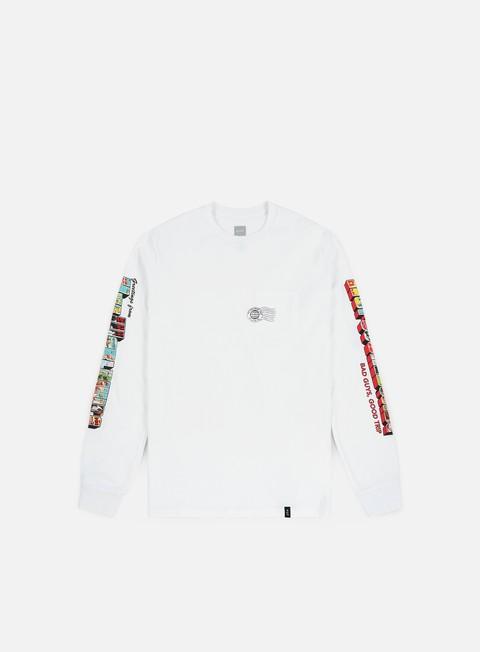 T-shirt a manica lunga Huf Greetings Pocket LS T-shirt