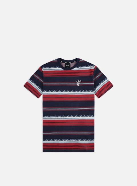Sale Outlet Short sleeve T-shirts Huf Hana Striped Knit Top T-shirt