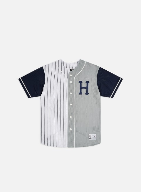 T-shirt a Manica Corta Huf Harlem Baseball Jersey