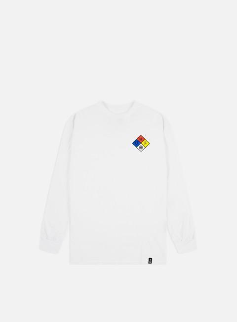 Outlet e Saldi T-shirt a Manica Lunga Huf Hazard LS T-shirt