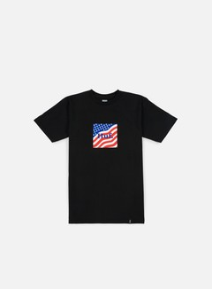 Huf - Huf Flag Box Logo T-shirt, Black 1