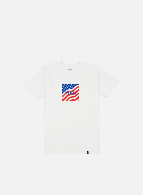 t shirt huf huf flag box logo t shirt white