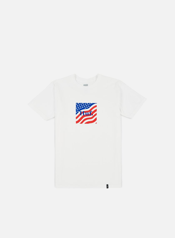 Huf - Huf Flag Box Logo T-shirt, White