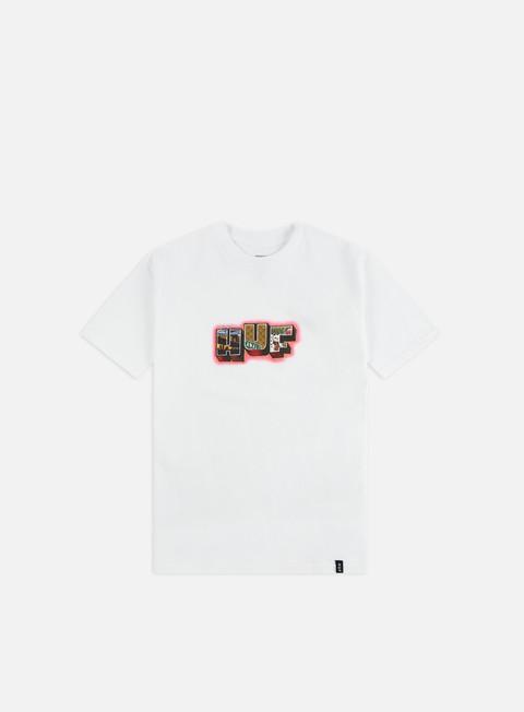 Outlet e Saldi T-shirt a Manica Corta Huf Huf Town T-shirt
