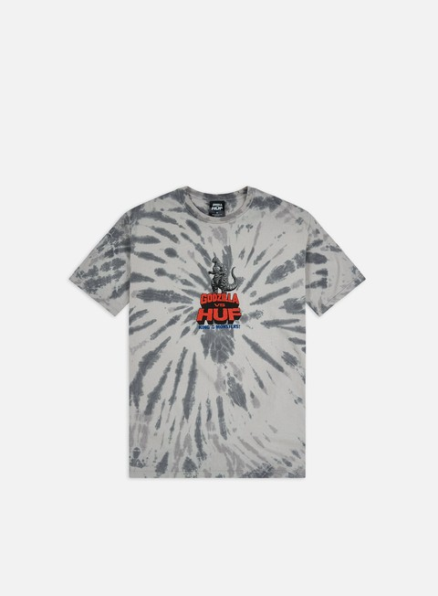 Sale Outlet Short Sleeve T-shirts Huf Huf Vs Godzilla T-shirt