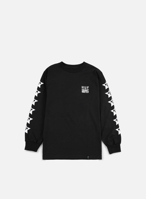 Huf - Huf X Clichè LS T-shirt, Black