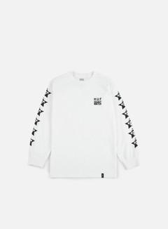 Huf - Huf X Clichè LS T-shirt, White 1