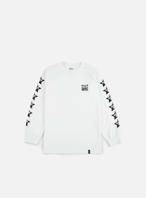 Huf - Huf X Clichè LS T-shirt, White