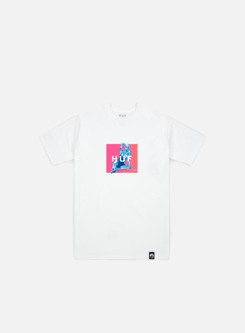 t shirt huf huf x sorayama box t shirt white