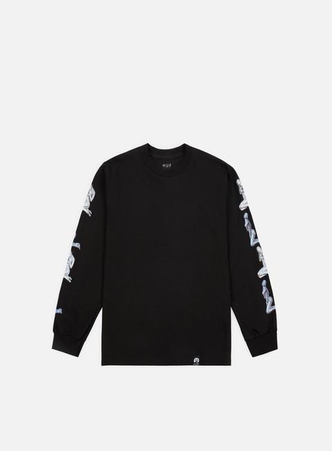 t shirt huf huf x sorayama ls t shirt black