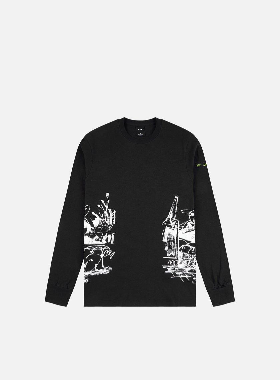 Huf James Jarvis LS T-Shirt