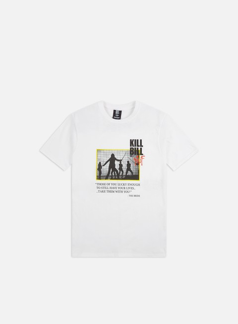 T-shirt a Manica Corta Huf Kill Bill Death List T-shirt