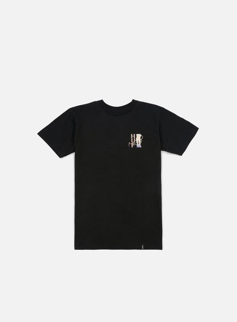 t shirt huf leash t shirt black