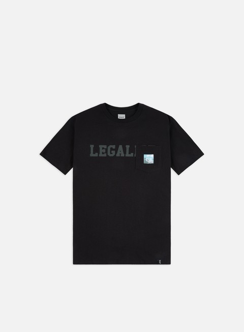 Outlet e Saldi T-shirt a Manica Corta Huf Legalise Pocket T-shirt